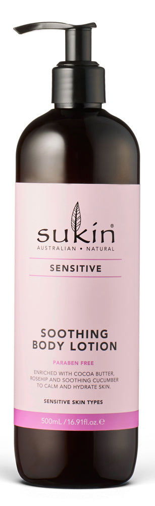 Sukin Soothing Body Lotion 500ml