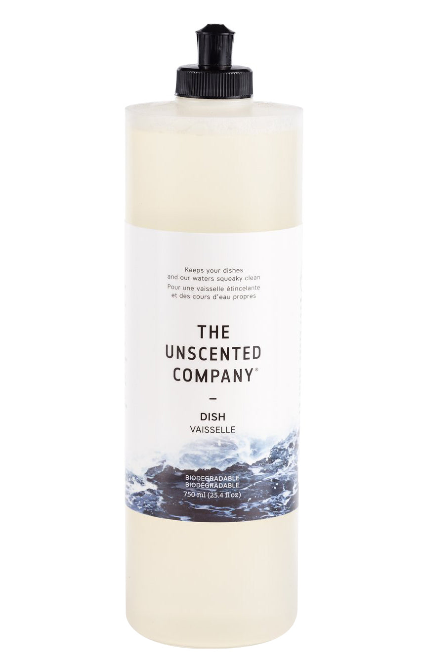 The Unscented Co Dish Soap 750ml