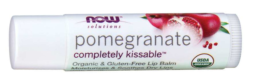 NOW Lip Balm Pomegranate