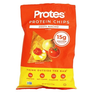 PROTES Zesty Nacho Protein Chips 113g