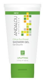 Andalou Sunflower Citrus ShowerGel 50ml