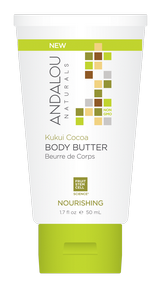 Andalou Kukui Cocoa Body Butter 50ml