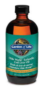Olde World Icelandic Cod Liver Oil 237 ml