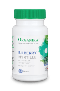Organika Bilberry 60mg 60cap