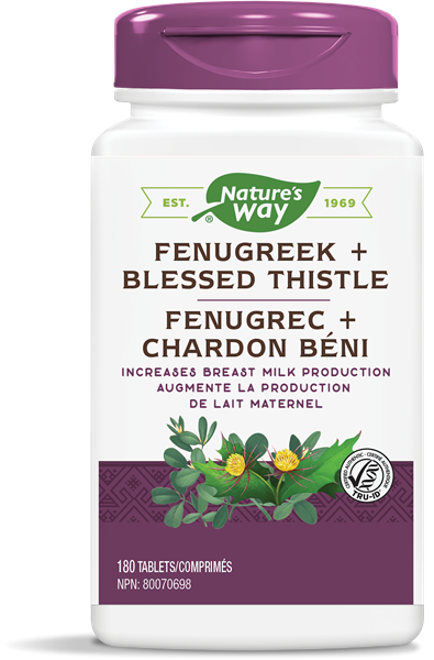 NW Fenugreek & Bless Thistle 180tab