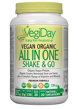 VegiDay All In One Nutritional Shake Unflavoured 720g