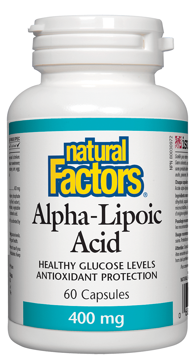 NF Alpha-Lipoic Acid 400mg 60cap