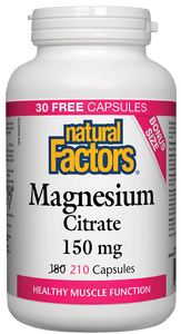NF Magnesium Citrate 210vcap