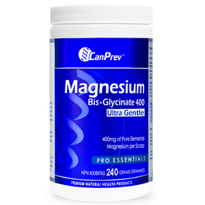 CanPrev Magnesium Bis-glycinate Gentle 400mg (240g)