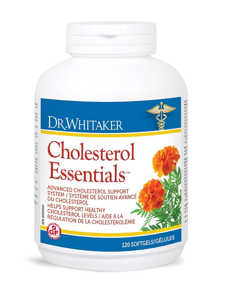 Dr.Whitaker Cholesterol Essentials (120 softgels)