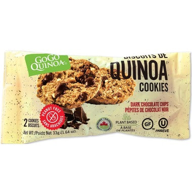 GoGo Quinoa Chocolate Chip Cookies 33g