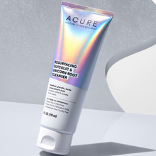 Load image into Gallery viewer, Acure Resurfacing Glycolic & Unicorn Root Cleanser 118ml