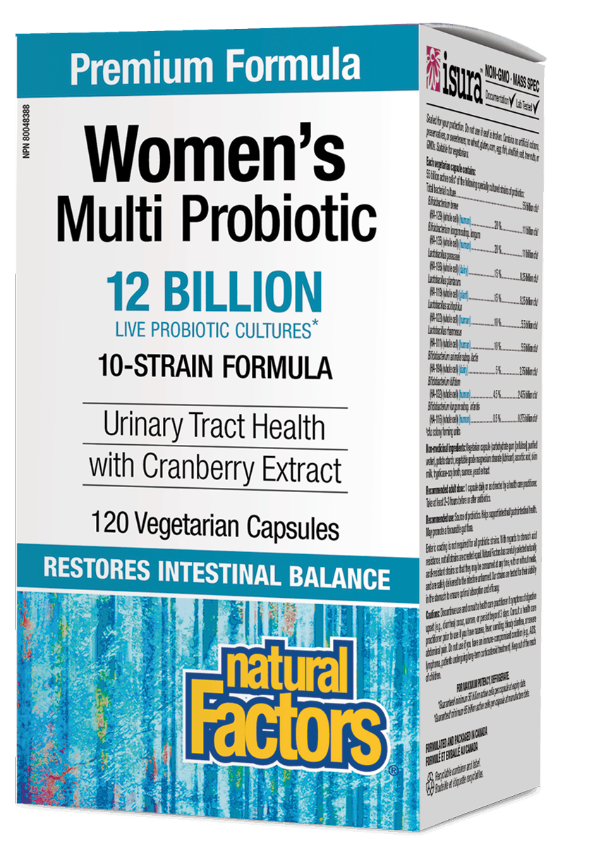 NF Women's Multi Probiotic 120vcap
