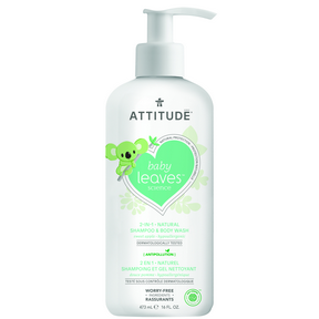 Attitude 2-in-1 Shampoo Apple 473ml
