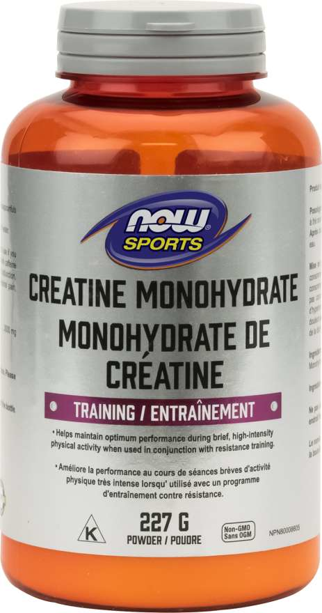 NOW Creatine Monohydrate Pure Powder 227g