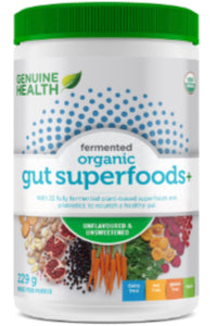 Fermented Org Gut Superfoods+ 229g