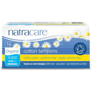Natracare Super Organic Cotton Applicator Tampons - 16 Count