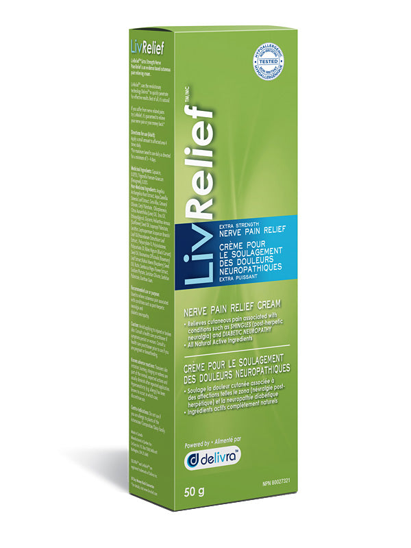 LivRelief Nerve Pain Relief 50g