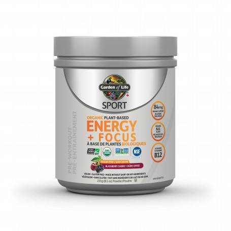 Garden Of Life Energy + Focus Blackberry Cherry 231g