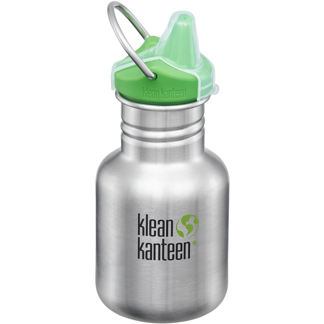 KK Sippy Cap Brushed Stainless 355ml