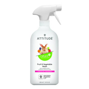 Attitude Fruit & Vegetable Wash 800ml