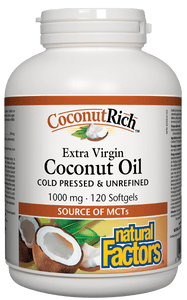 NF CoconutRich 1000mg 120sgls