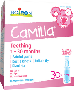 Boiron Camilia Teething 30dose homeopathic