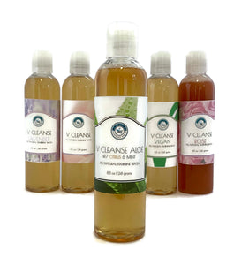 V Cleanse Aloe Liquid All Natural Feminine Body Wash with Citrus & Mint