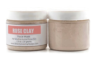FACE MASK (Powder) - ROSE CLAY