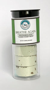 Aromatic Shower Steamer Tablets Lavender Eucalyptus Lemongrass Rose Menthol Mint Citrus