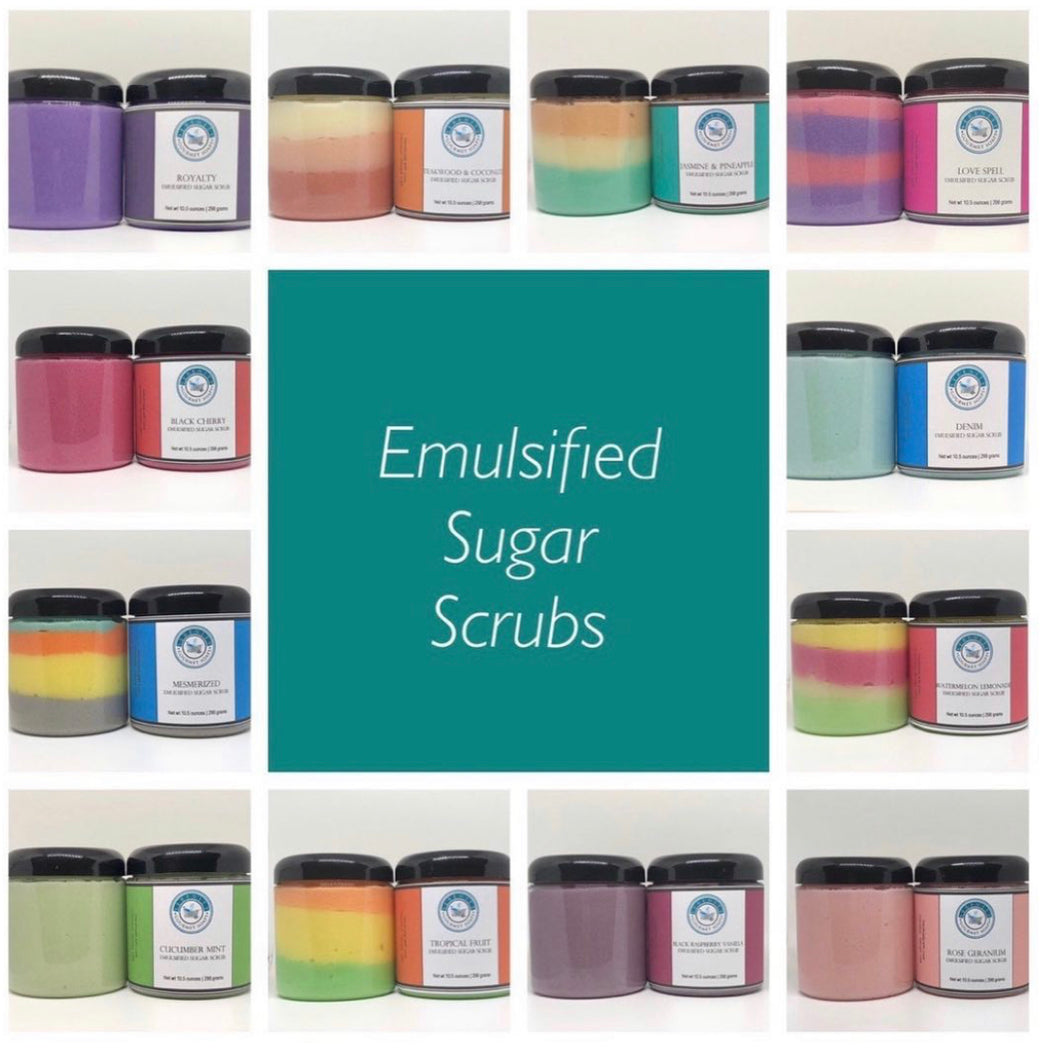 EMULSIFIED SUGAR SCRUB - BULK \ WHOLESALE