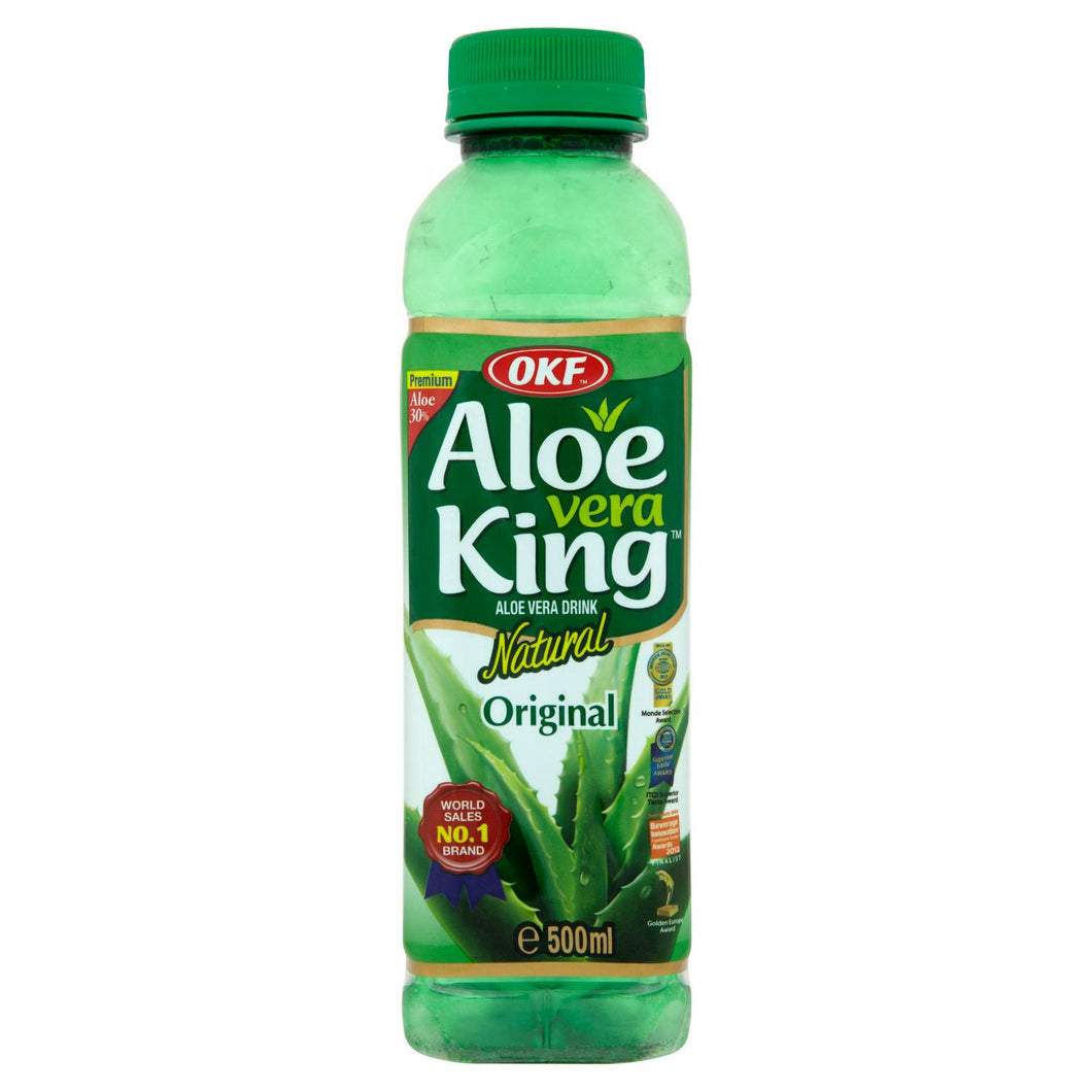 OKF Aloe Vera King Aloe Vera Drink Natural Original 500ml