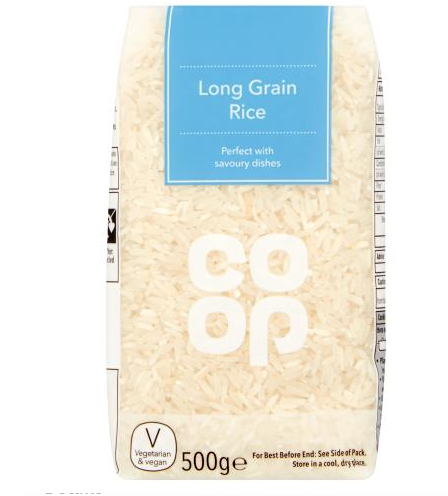 500g Long Grain Rice