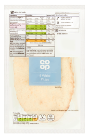 Co Op 6 White Pittas
