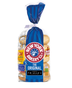 New York Bakery Co. 5 The Original Bagels Fresher for Longer 425g