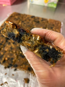 Blueberry Carrot & Zucchini Bars