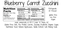 Load image into Gallery viewer, Blueberry Carrot & Zucchini Bars