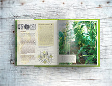 Load image into Gallery viewer, Double page spread showing page content of Lost the Plot allotment book by allotment junkie