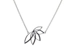 Lotus medium fixed necklace