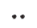 Oslo earring large edition - Smoky quartz