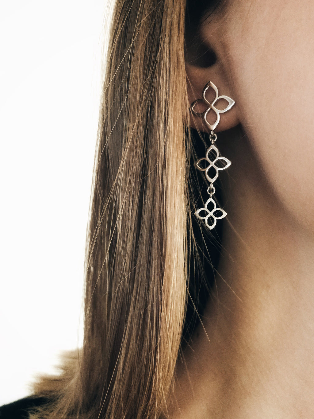 Florence triple flower earring - LMS