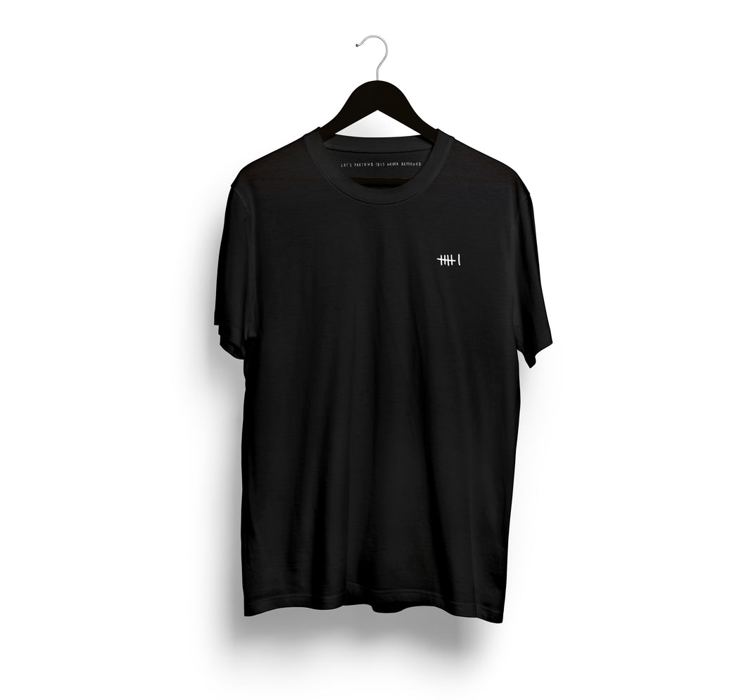 Locals Only Languages T-Shirt, Black