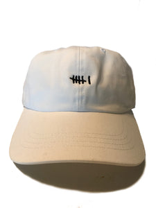 "Locals Only ""6"" Hat, White"