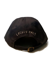 "Load image into Gallery viewer, Locals Only ""6"" Hat, Black"