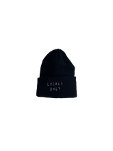 "Load image into Gallery viewer, Locals Only ""6"" Toque, Black"