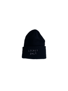 "Locals Only ""6"" Toque, Black"