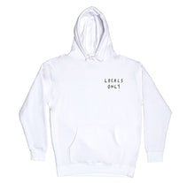 Load image into Gallery viewer, Locals Only Hoodie, White