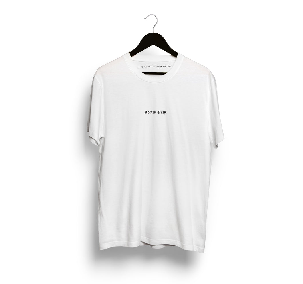 Locals Only OE T-Shirt, White
