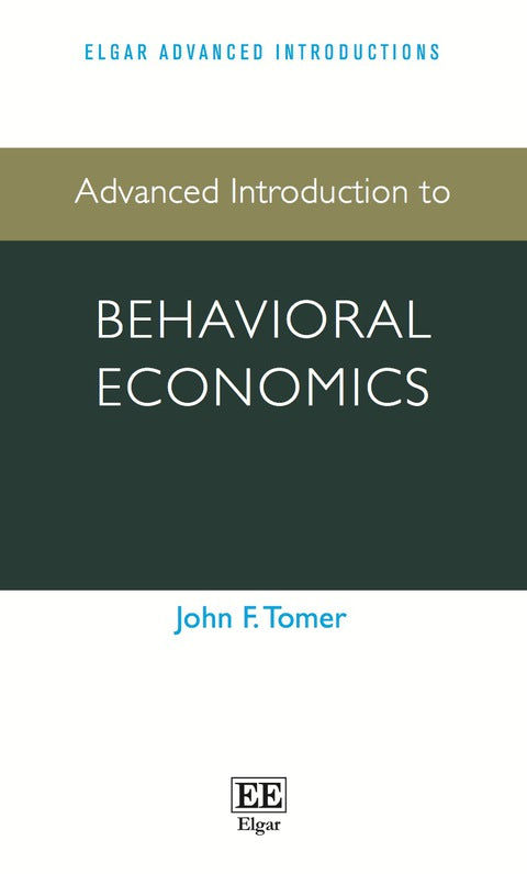 Advanced Introduction to Behavioral Economics | Zookal Textbooks | Zookal Textbooks