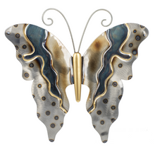 Load image into Gallery viewer, Butterfly Metallic wall decor